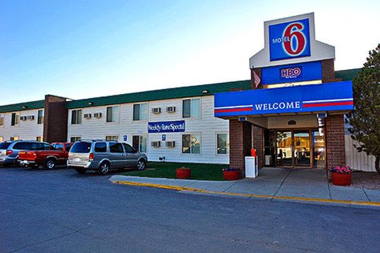 Motel 6 Gillette: Front Entrance