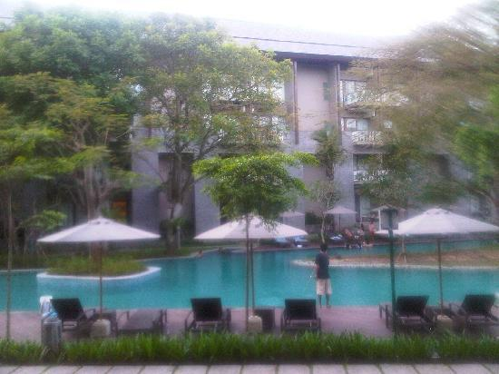 Courtyard by Marriott Bali Nusa Dua Resort : Right outside our room