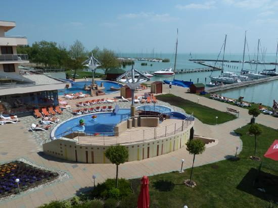 Balatonfured, Ungarn: wiev from our appartement