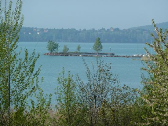 Balatonfured, Ungarn: Wiev from our balcony