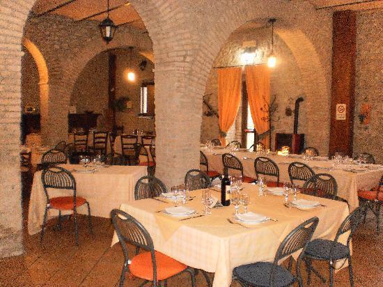 Agriturismo Fattoria I Due Mondi: Il ristorante