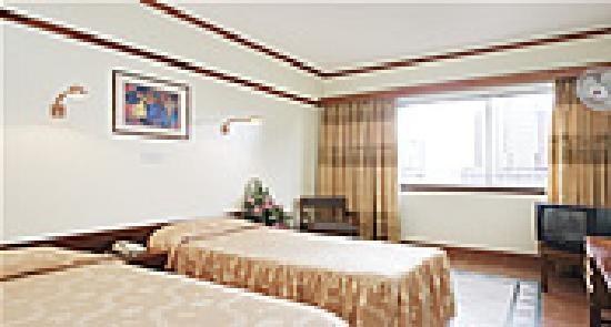 Sandton Palace Hotel: double room with twin bed