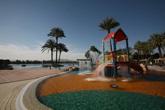 Jolie Ville Hotel & Spa - Kings Island, Luxor : Pool area
