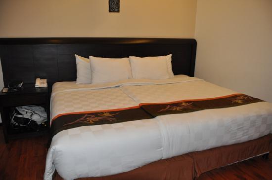 Best Western Resort Kuta: bed was very comfy