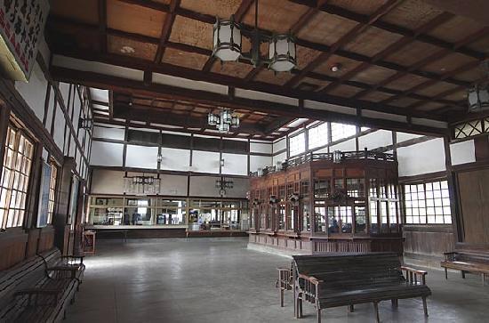 旧大社駅, 大社駅待合室と切符売場