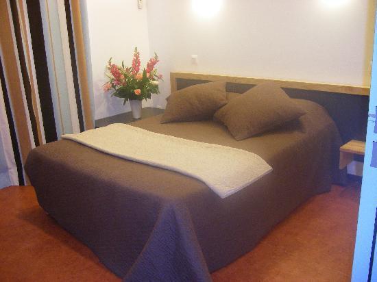 Hexagone: chambre luxe