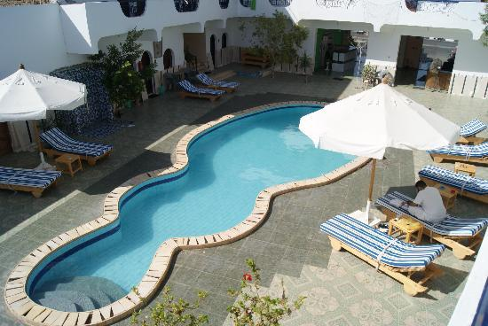 Dahab Plaza Hotel: Hotel Pool Area