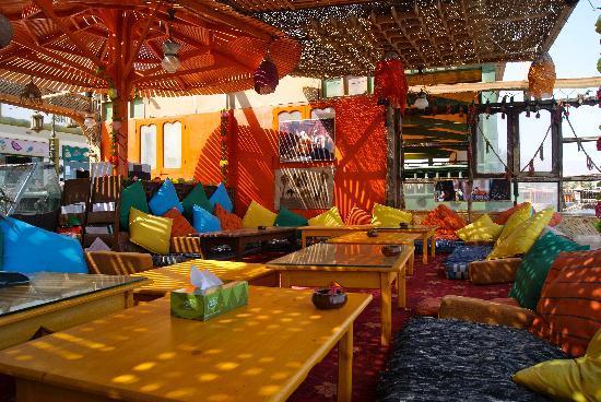 Dahab Plaza Hotel : Same Same Restaurant for Breakfast