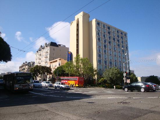 hotel l 39 angle de van ness av et de lombard street. Black Bedroom Furniture Sets. Home Design Ideas