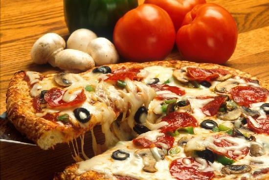 Horizons Restaurant & Lounge : In Room Pizza Specias