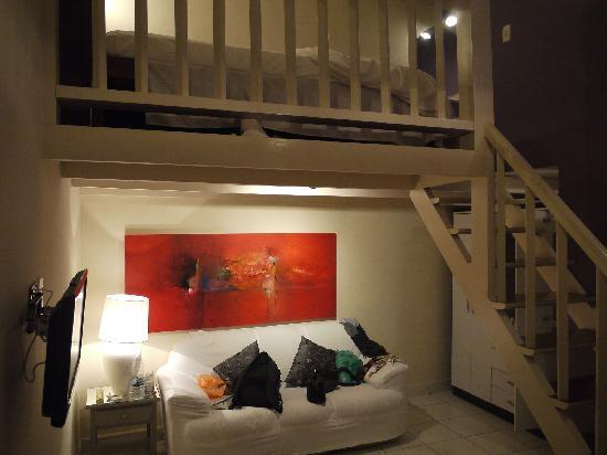 Pousada Bambu Bamboo: Our loft suite
