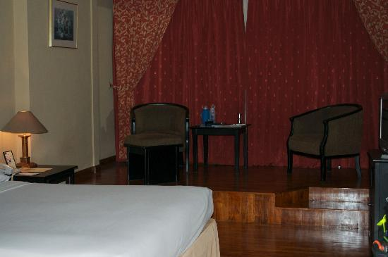 Hotel Danau Toba International: Our Room, Clean, Lovely Floor, Comfy Chairs