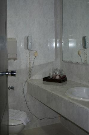 Hotel Danau Toba International : Clean bathroom