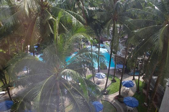 Hotel Danau Toba International : View from our room
