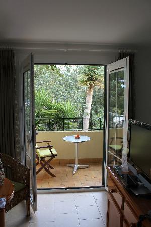 Casa Pauline: Balcony with sea view