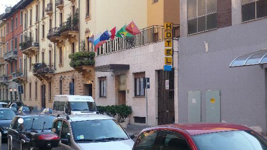 Hotel Perugino - l'esterno