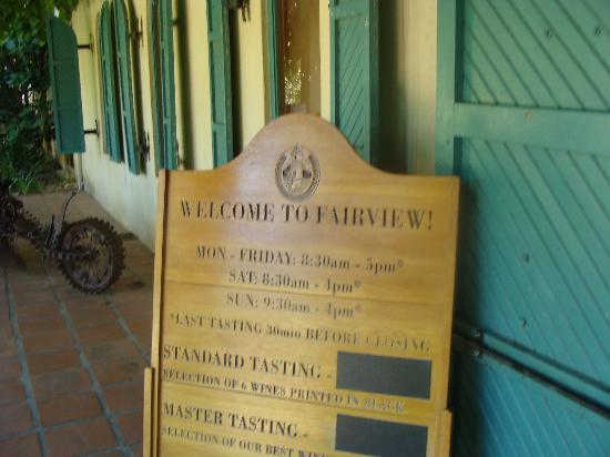 Western Cape Tours -  Day Tours: best winery we went to