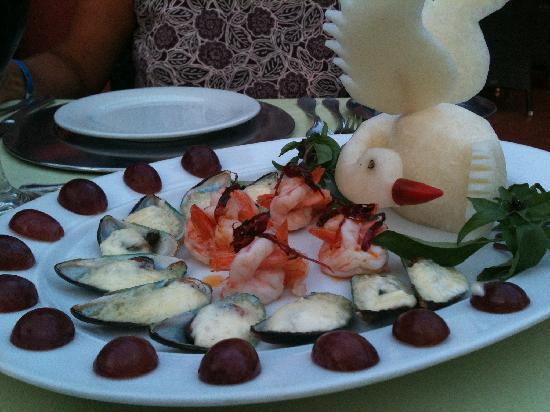 Holiday Inn Resort Ixtapa : Mussels,Shrimp,