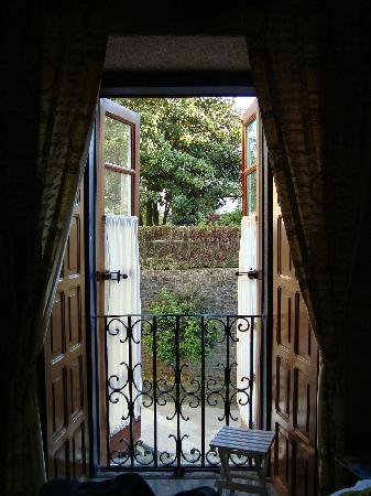 """Casa Hotel As Artes: Balcón de la habitación """"Antonio Vivaldi"""""""