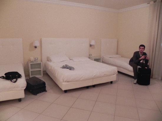 Residenza Fiorentina: Letti-camera quadrupla