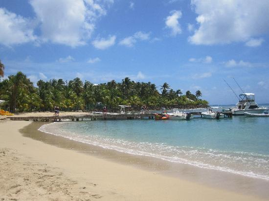 Curtain Bluff Resort : Another hard day at the beach!