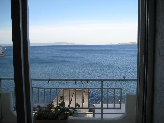 Neapolis, Grecia: sea view from 2nd floor