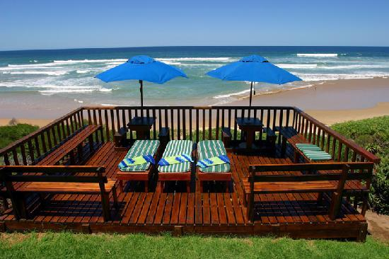 The tanning deck at Sea Paradise