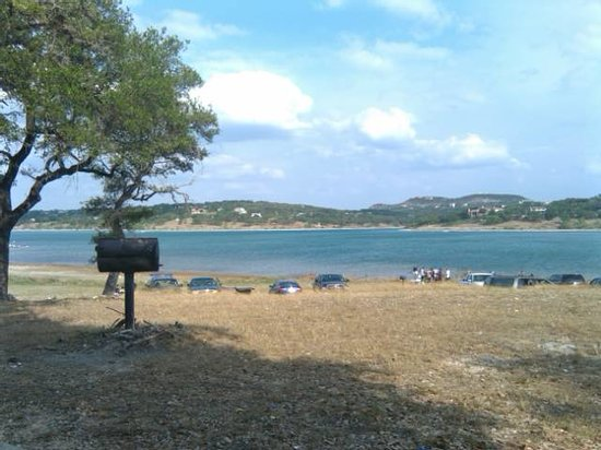 Canyon Lake, TX: from Pinic area