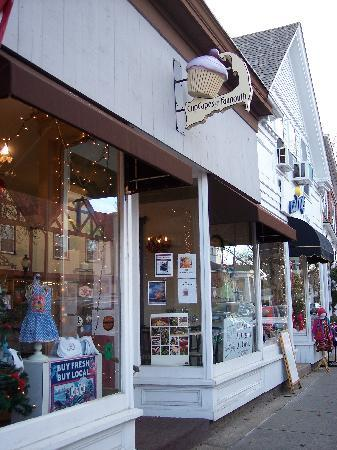 CupCapes of Falmouth: CupCapes in downtown Falmouth