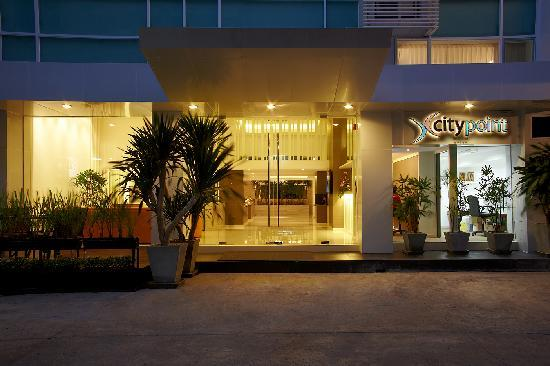 CityPoint Hotel : Entrance