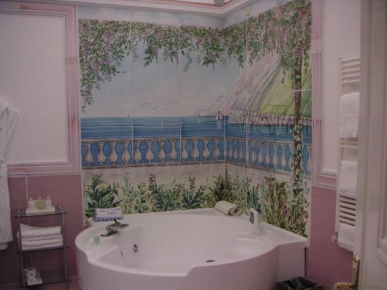 Santa Caterina Hotel: our bathroom