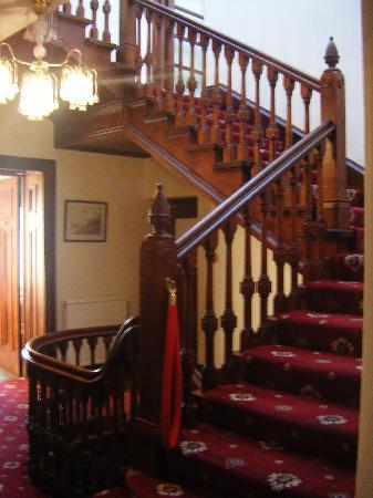 The Bonnington: the stairway