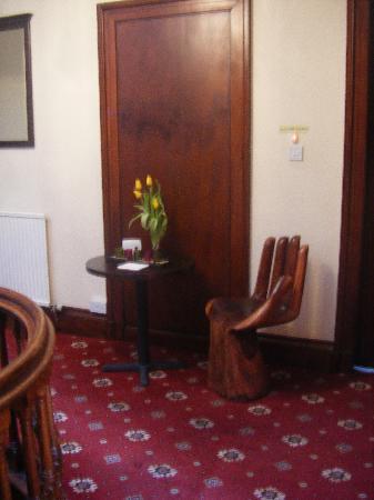 The Bonnington: the hallway