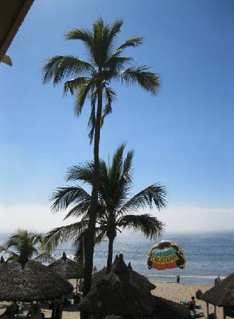 Hotel Playa Mazatlan: Parasailing on the beach