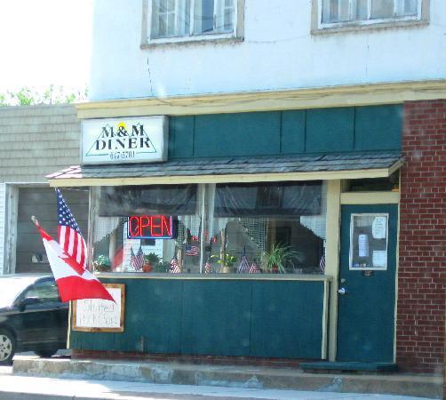 Au Sable Forks, Estado de Nueva York: M&M Diner