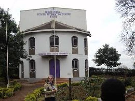 Cruzeiro Safaris: the Scouts and Guides centre in Nyeri