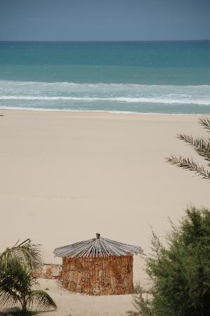 Royal Horizon Boa Vista : Petite vue de la plage de l'hotel