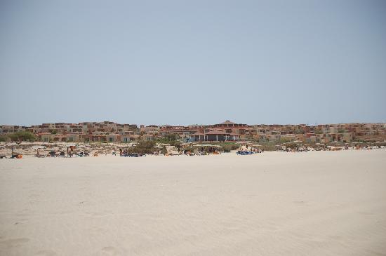 Royal Horizon Boa Vista : Vue hotel de la plage