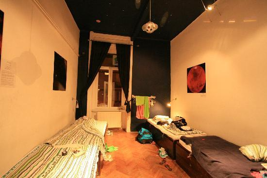 Aventura Boutique Hostel: Space room.  I have forgotten to take a pic when I was staying at Africa Room.