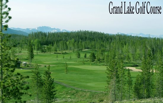 Grand Lake Golf Course : Overview of #12 & #14