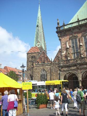 Bremen, Jerman: Marktplatz
