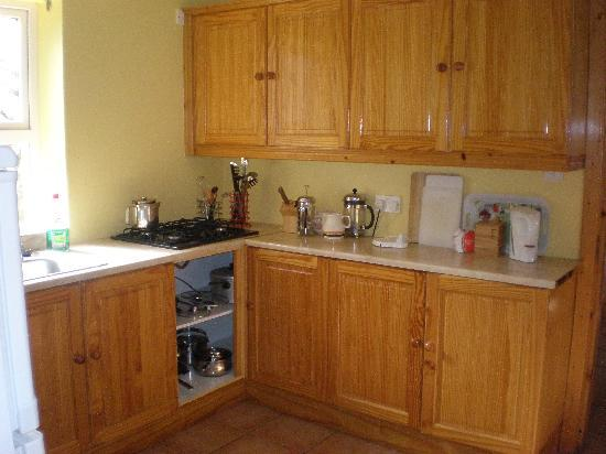 Malinbeg Hostel: Cocina