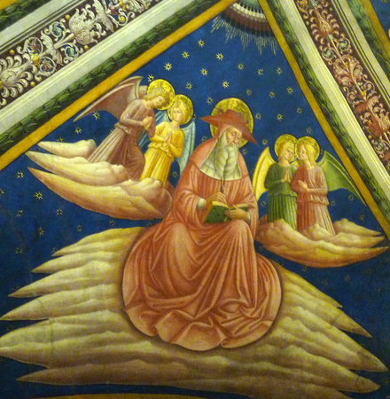 Assisi, Italia: Some of frescoes