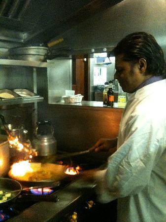 Memsaab of Lavenham Indian Restaurant: raj cooking fantastic afgani lamb