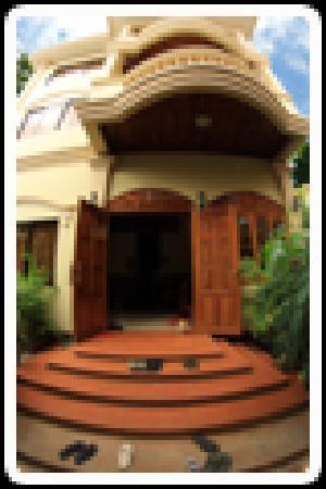Happy Guest House: Entrance