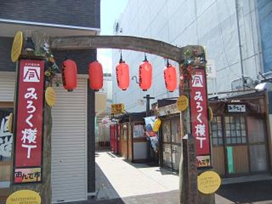 Hachinohe Yatai Village Mirokuyokocho : みろく横丁