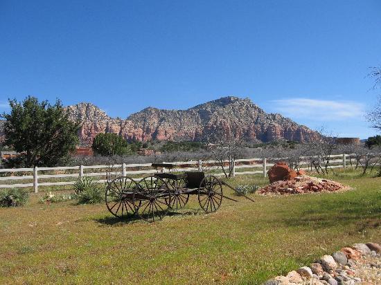 Grace's Secret Garden B&B: Beautiful View From Front yard of Grace's Secret Garden