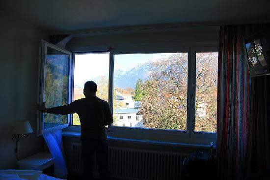 MyHotel Merkur: view in the room