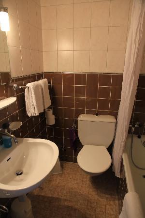 MyHotel Merkur: toilet