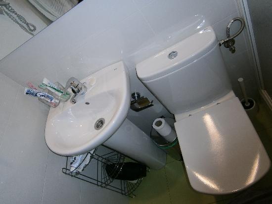 Hostal Salome: petite vue de la salle d'eau